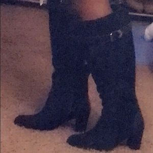 City chic knee high boots